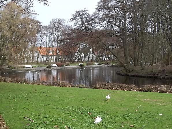 Entspannung finden im Kurpark auf Norderney