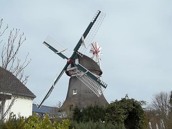 Die Mühle in der Stadt Norderney